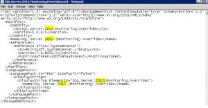 SQL 2008 Override MP 5a